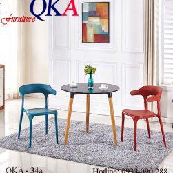 Ghế Nhựa Đúc Nhập Khẩu – QKA 34a