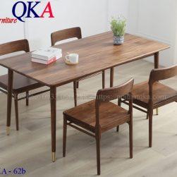 Bộ bàn ghế ăn – QKA 62b