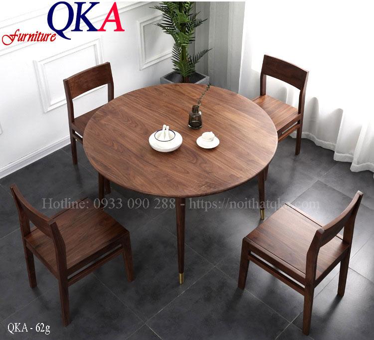 Bộ bàn ghế ăn – QKA 62g