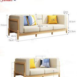 Bộ ghế sofa phòng khách – QKA 11w