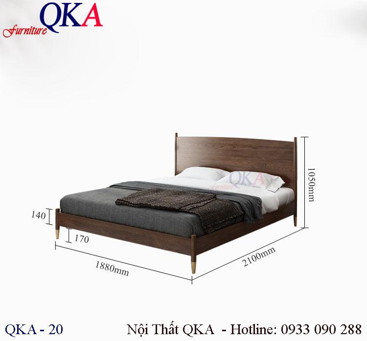 Mẫu giường ngủ – QKA 20