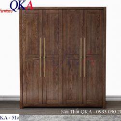Mẫu tủ quần áo – QKA 51c