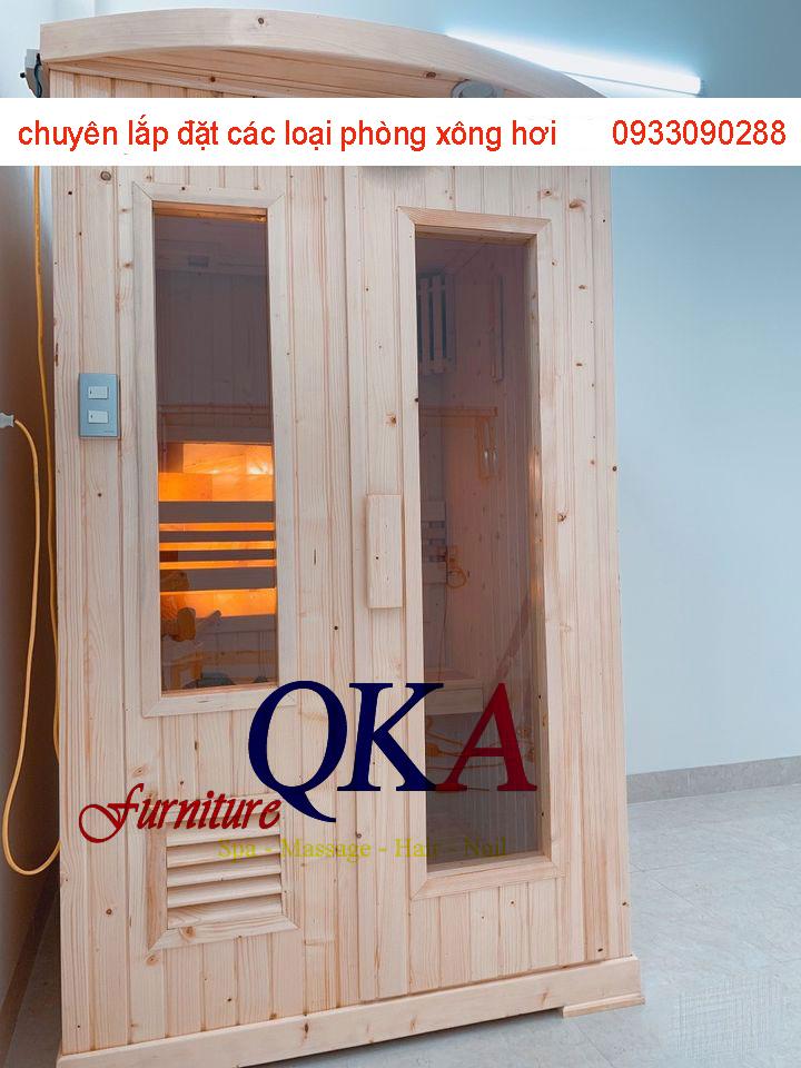 Phòng xông hơi khô cho gia đình và các spa