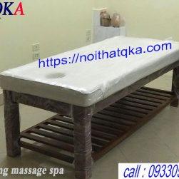 Giường massage body khung gỗ cao cấp_QKA GG01