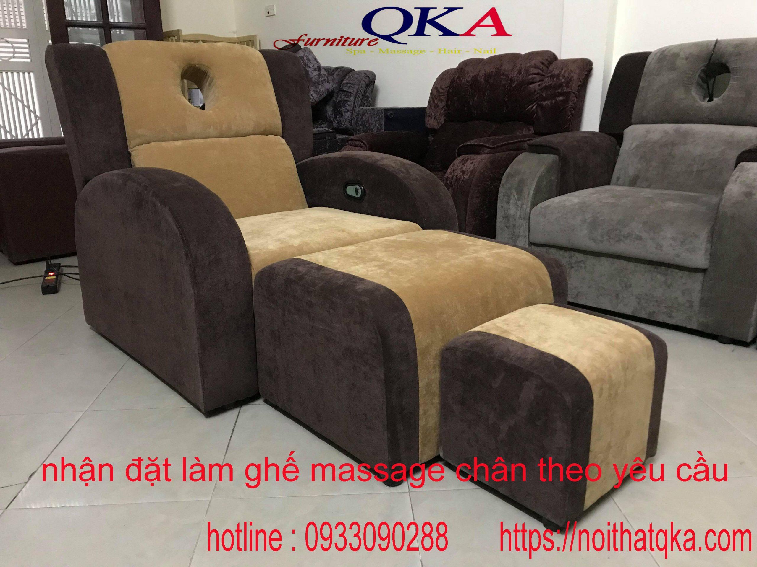 ghế massage chân cung cấp cho Bắc Ninh