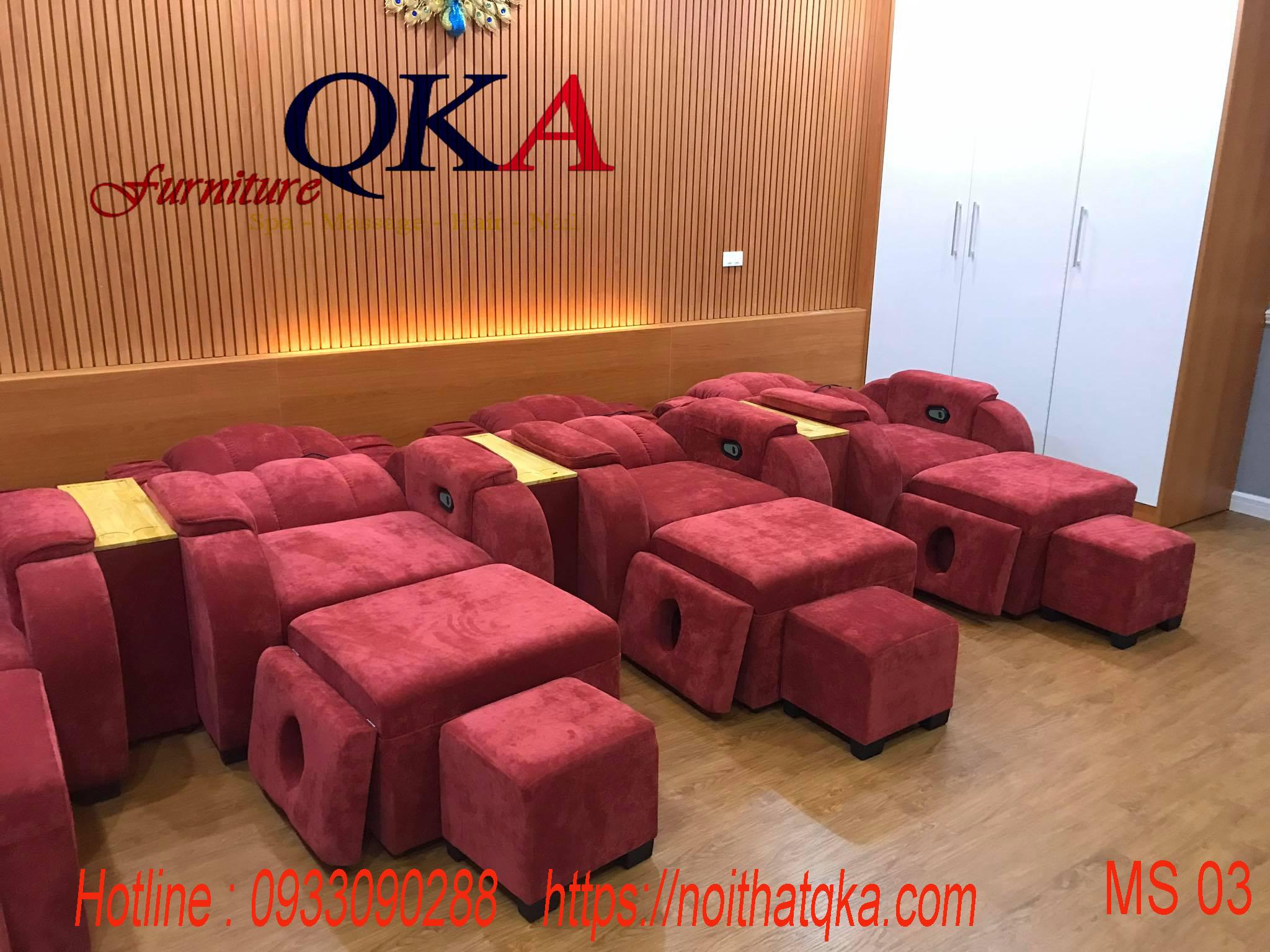 Ghế massage chân QKA03 Giao khách hà nội