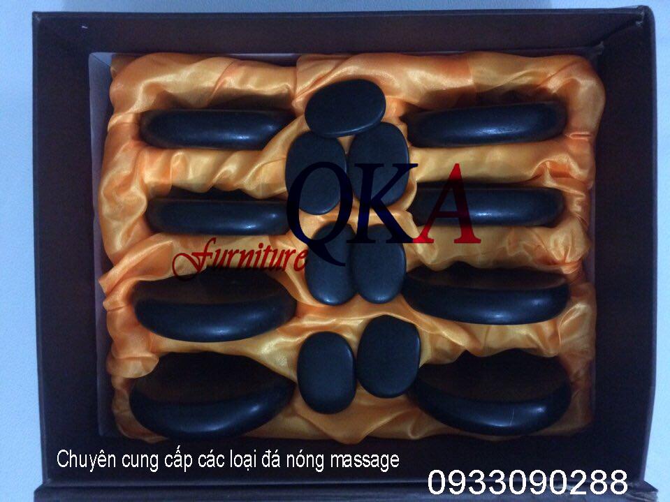 Đá nóng massage tại nội thất QKA