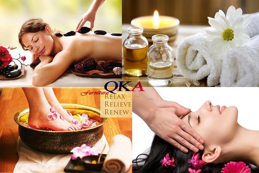 Các phụ kiện cho bài massage body