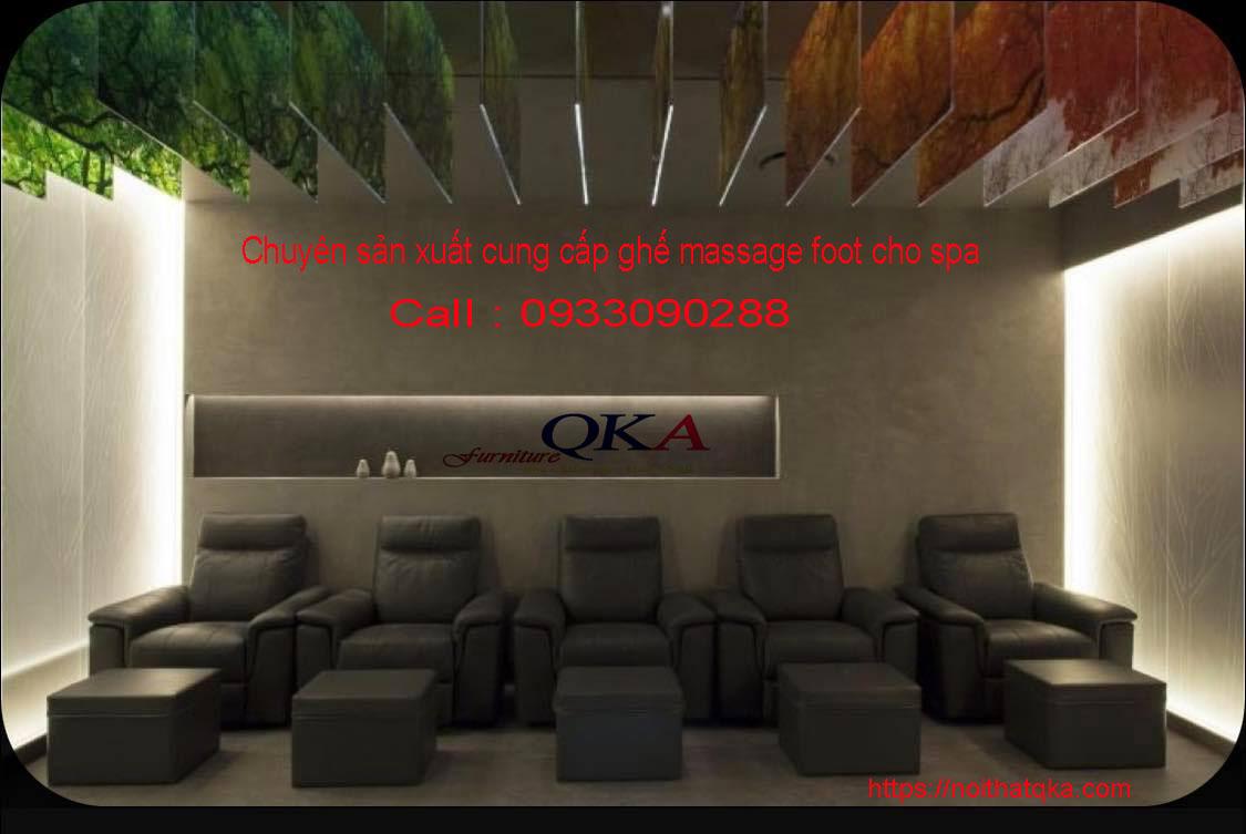 ghế massage chân tại nội thất QKA